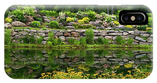Rocks And Plants In Rock Garden IPhone Case