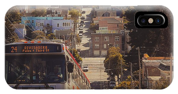 Traveler iPhone Case - San Francisco  by Kenny Noddin