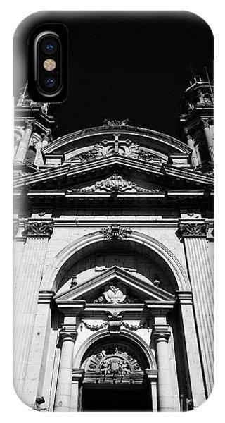 Santiago Metropolitan Cathedral Chile Phone Case by Joe Fox