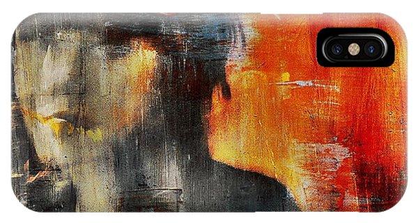 Sketch iPhone Case - Shadows (portrait) by Dalibor Davidovic