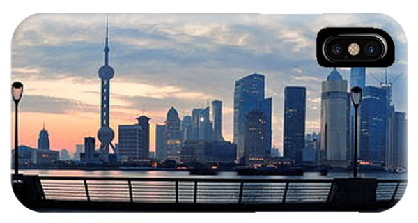 Shanghai Morning IPhone Case