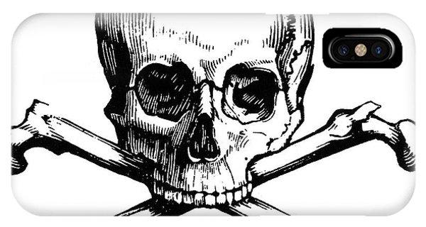 Skull And Crossbones Phone Case by Granger