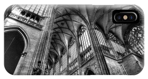 St Vitus Cathedral Prague IPhone Case