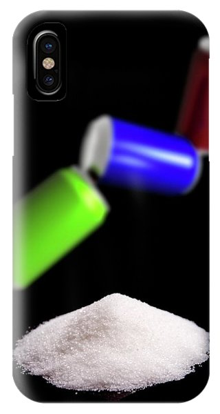 Sugar In Fizzy Drinks Phone Case by Victor Habbick Visions/science Photo Library