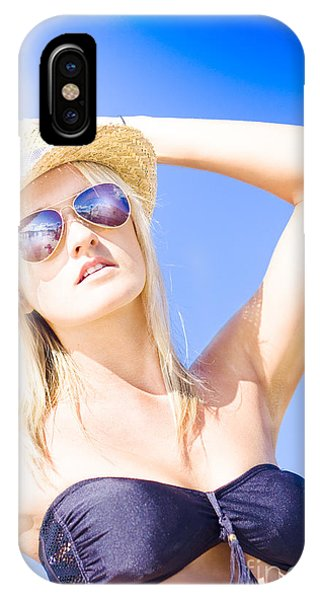 Sunbather iPhone Case - Summer Vacation by Jorgo Photography - Wall Art Gallery