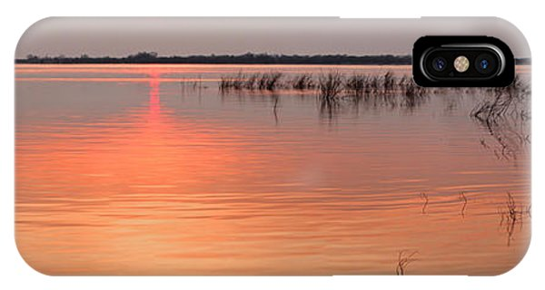 Sunset  River Panorama IPhone Case