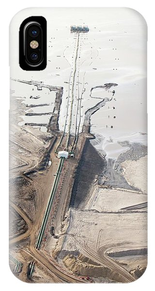 Tailings Pond At Syncrude Mine IPhone Case