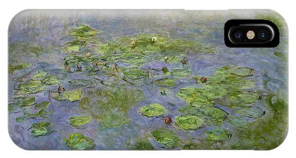 Canberra iPhone Case - The Water Lilies by Claude Monet