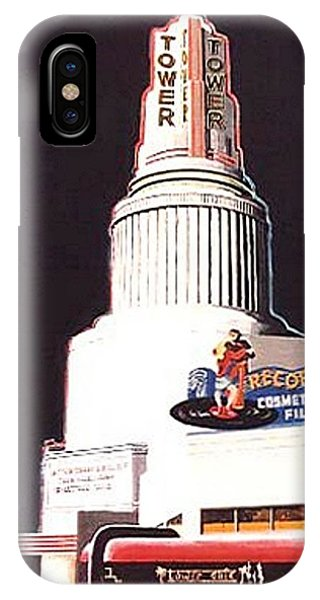 iPhone Case - Tower Theatre by Paul Guyer