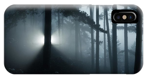 Fog iPhone Case - Untitled by Riccardo Lucidi