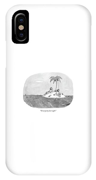Great Party Last Night IPhone Case