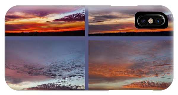 4 Views Of Sunrise 2 IPhone Case
