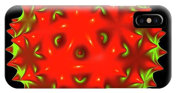 Virus iPhone Case - Virus by Mehau Kulyk
