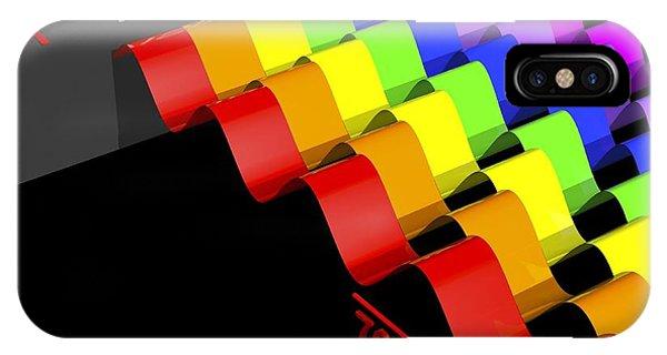 Visible Light Spectrum, Artwork IPhone Case