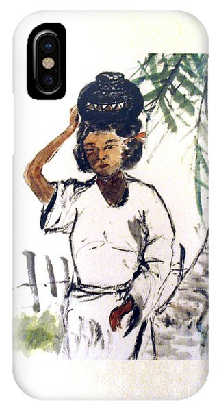 Water Carrier IPhone Case