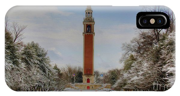 Winter At The Carillon IPhone Case