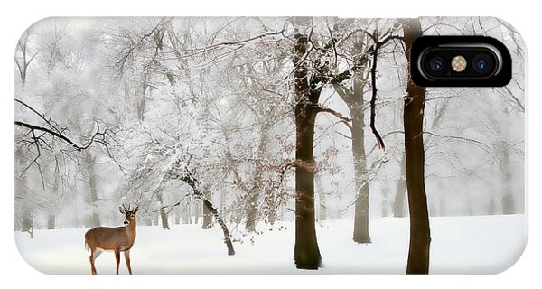 Winter iPhone Case - Winter's Breath by Jessica Jenney