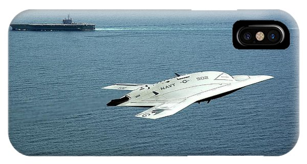 X-47b Unmanned Combat Air Vehicle Phone Case by Us Air Force