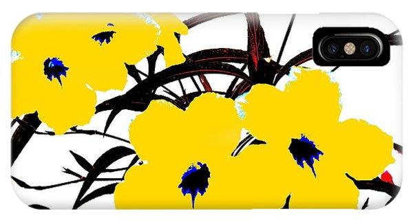 4 Yellow Jacks IPhone Case