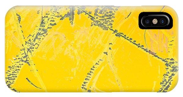 Yellow Metal IPhone Case