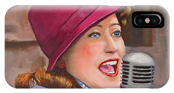 40s Singer IPhone Case