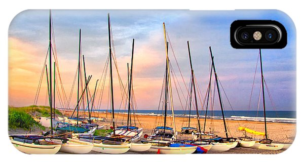 41st Street Sailing Beach IPhone Case