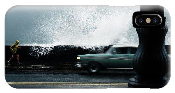 Explosion iPhone X Case - 42 by Alper Uke