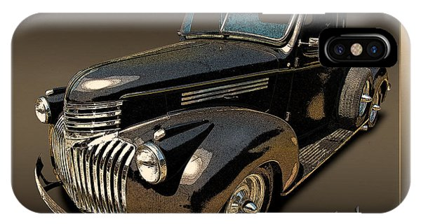 42 Chevy Pickup Rat Rod IPhone Case