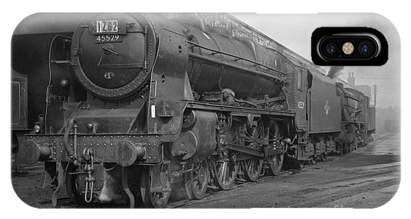 45529 Stephenson At Aintree Shed IPhone Case