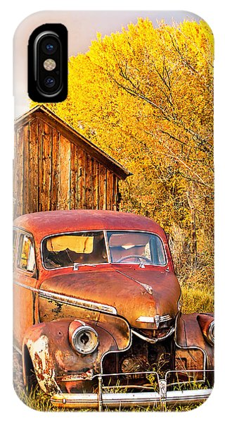 46 Chevy In The Weeds IPhone Case
