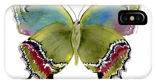 46 Evenus Teresina Butterfly IPhone Case