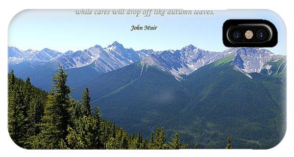 46- John Muir IPhone Case