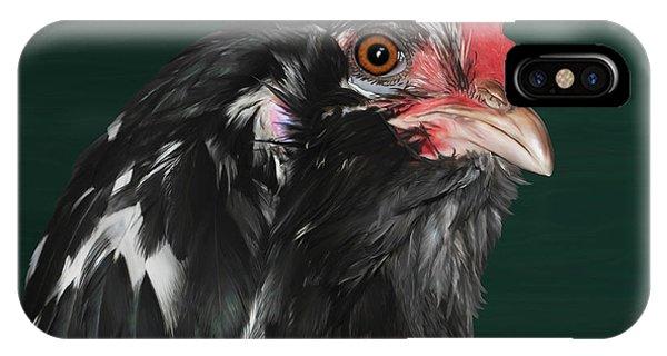 47. Bearded Hen IPhone Case