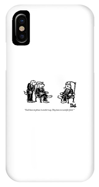 You'll Have To Phrase It Another Way IPhone Case