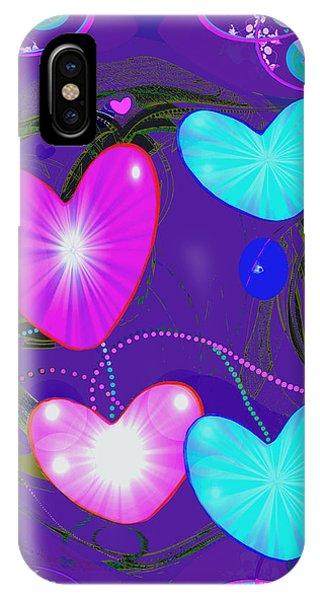 472 -  Valentine Hearts  ... IPhone Case
