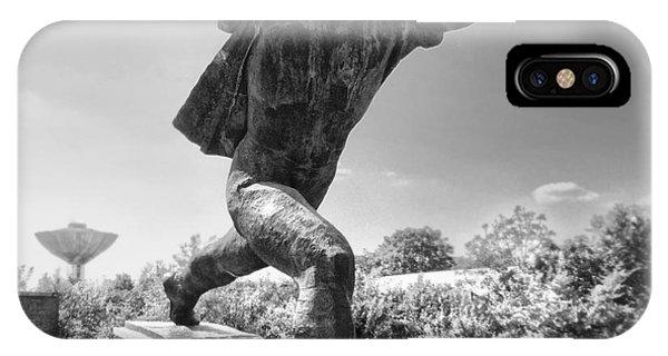 Budapest Memento Park-communist Statues Park IPhone Case