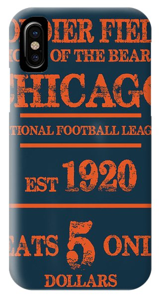 Chicago iPhone Case - Chicago Bears by Joe Hamilton