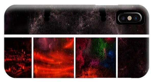 Science Fiction iPhone Case - Abstract Space by Imran Raja