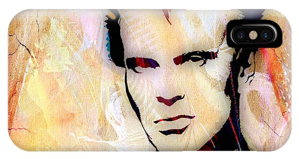 Billy Idol iPhone X Case - Billy Idol Collection by Marvin Blaine