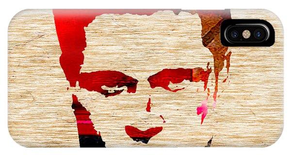 Hollywood iPhone Case - Brad Pitt by Marvin Blaine