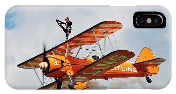Breitling Wingwalkers Team IPhone Case
