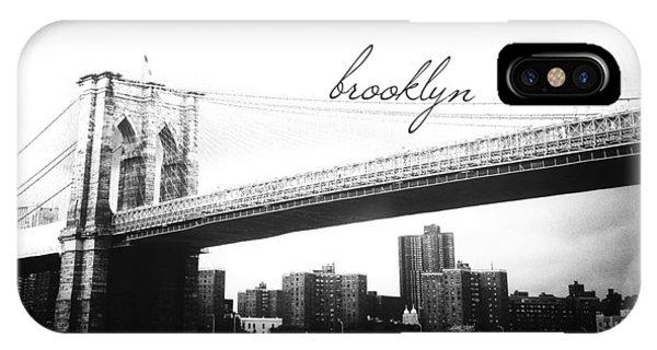 New York City iPhone Case - Brooklyn by Natasha Marco