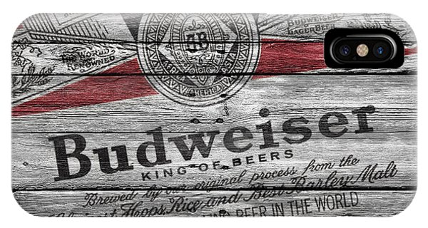 Ice iPhone Case - Budweiser by Joe Hamilton