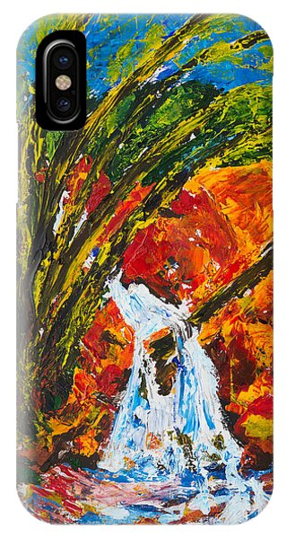 Burch Creek Waterfall IPhone Case