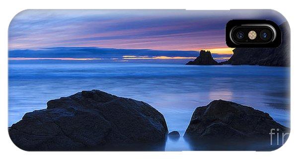 Campelo Beach Galicia Spain IPhone Case
