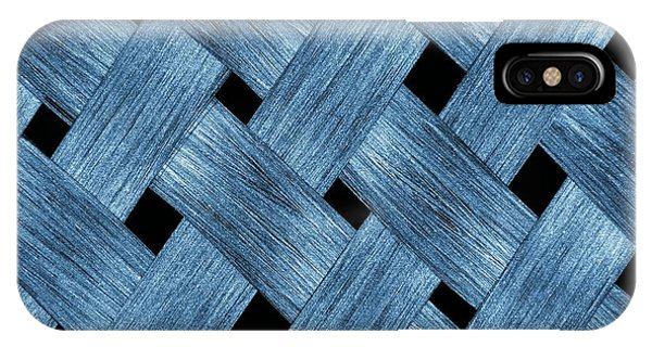 Carbon Fibre Fabric Phone Case by Alfred Pasieka