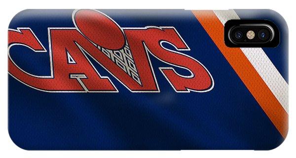 Lebron James iPhone Case - Cleveland Cavaliers Uniform by Joe Hamilton