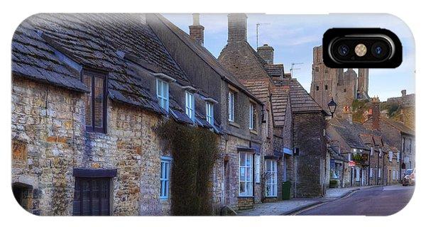 Dorset iPhone Case - Corfe Castle by Joana Kruse