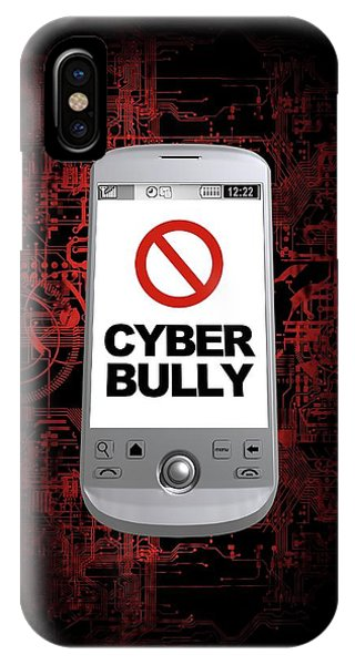Cyber Bullying Phone Case by Victor Habbick Visions/science Photo Library