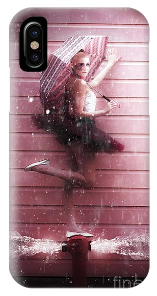 Bricks iPhone Case - Dancer by Jorgo Photography - Wall Art Gallery